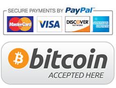 Paypal and Bitcoin Accepted Here